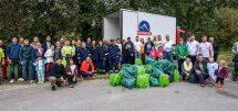 Πλήθος εθελοντών στην πρωτοβουλία της ΟΛΥΜΠΟΣ για έναν καθαρότερο Πηνειό