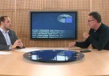 Ο ευρωβουλευτής Κώστας Αρβανίτης στην εκπομπή «Θεσσαλών Δρώμενα» της TRT με τον Κώστα Κωστούλα