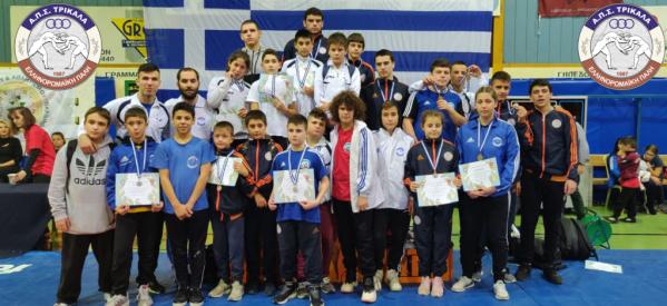 Mε 16 μετάλλια στο Πανελλήνιο τουρνουά «Κωνσταντίνος Παπαγεωργίου» οι αθλητές του ΑΠΣ Τρίκαλα