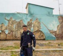 Tρικαλινός Αξιωματικός του Λιμενικού  κορυφαίος καλλιτέχνης των graffiti