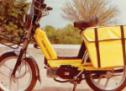 Όταν τα ΕΛΤΑ χρησιμοποιούσαν ελληνικής κατασκευής μοτοποδήλατα (Τρικαλινή βιομηχανία MEGO)