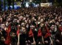 Πορεία στο κέντρο της Αθήνας από φοιτητές