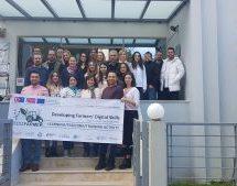 Erasmus στις εγκαταστάσεις του ΑΚΕΘ στα Τρίκαλα