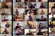 100 βιολιά από όλη την Ελλάδα παίζουν τον «Μπάλο της καραντίνας»