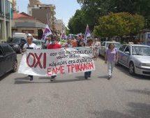 Νέα συγκέντρωση διαμαρτυρίας από την ΕΛΜΕ Τρικάλων