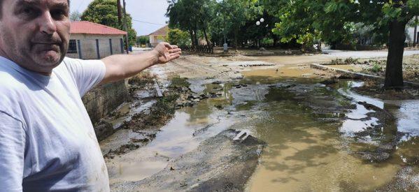Αποκατάσταση ζημιών και στήριξη κατοίκων στο Ρίζωμα