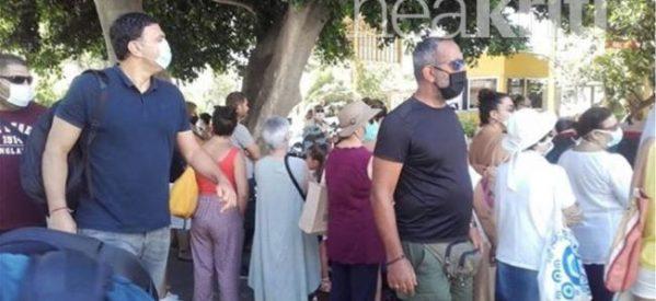Γύρισαν…την πλάτη στον Βασίλη Κικίλια στο νοσοκομείο Ρεθύμνου
