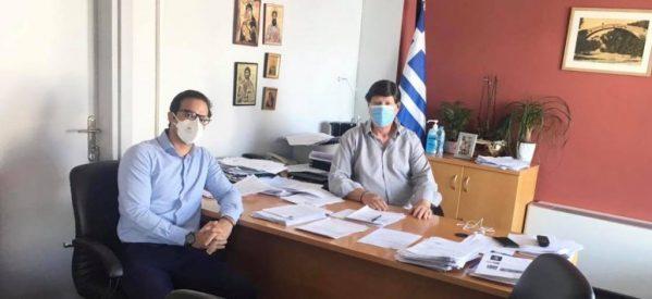Συνάντηση Χατζηγάκη με τον Διοικητή του νοσοκομείου