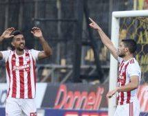 Super League 1 Play Offs, Άρης-Ολυμπιακός 2-4: Περίπατος και συνεχίζει αήττητος