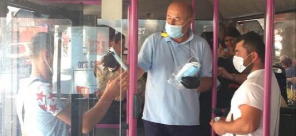Αστικό ΚΤΕΛ Τρικάλων: Μοιράζει μάσκες στους επιβάτες