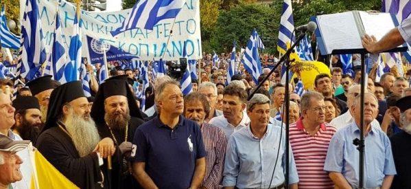 Που είναι ο Ταμήλος με τον Βλαχογιάννη , τον Σκρέκα και την Παπακώστα που έβγαιναν στις πλατείες με τους παπάδες …Ο Μακεδονομάχος Μιχαλάκης  που είναι ;