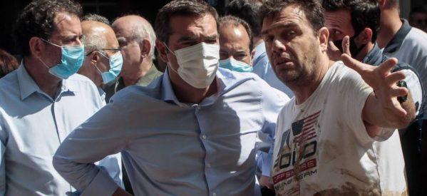 """Σκληρή επίθεση Τσίπρα σε Αγοραστό για τις καταστροφές στην Καρδίτσα – """"Γιατί τον εξαφάνισε"""" ο Μητσοτάκης"""";"""