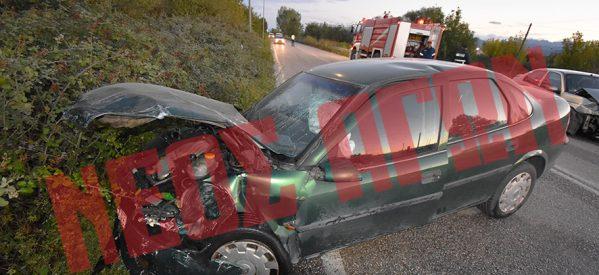 Τροχαίο ατύχημα στο δρόμο Καρδίτσας- Τρικάλων