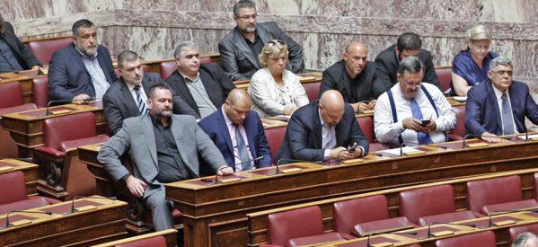 Δίκη Χρυσής Αυγής: 13 χρόνια για την ηγετική ομάδα- Ισόβια και δέκα χρόνια η ποινή στον Ρουπακιά