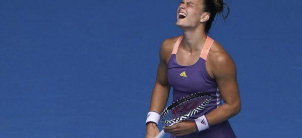 Τη μεγαλύτερη νίκη της καριέρας της πέτυχε η Μαρία Σάκκαρη, επικρατώντας της Ναόμι Οσάκα (Νο 2 στον κόσμο) με 2-0 σετ