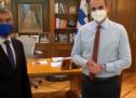 Αχελώος, Ιανός, σεισμός,  στη συνάντηση Μητσοτάκη – Αγοραστού