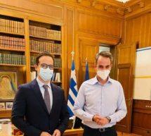 """""""Επί τάπητος"""" … τα προβλήματα των Τρικάλων από τον Χατζηγάκη στον πρωθυπουργό"""
