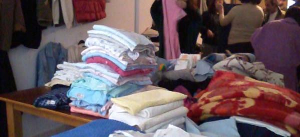 Διανομή ρούχων στο Ιερό Παρεκκλήσιο Αγ. Ευθυμίου & Αγ. Εφραίμ