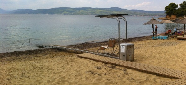 Πρόσβαση στη θάλασσα για ΑμΕΑ