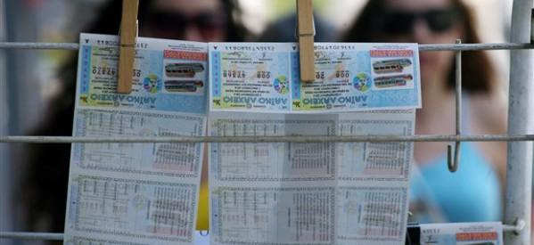 Στη Λάρισα το «χρυσό» δελτίο με τα 2 εκατ. ευρώ από το χριστουγεννιάτικο λαϊκό λαχείο