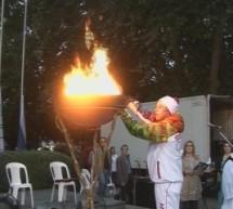 Διανυκτερεύει στα Τρίκαλα η Ολυμπιακή Φλόγα
