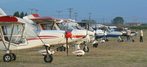 Εκδήλωση ενδιαφέροντος για πτυχίο υπερελαφρών αεροσκαφών
