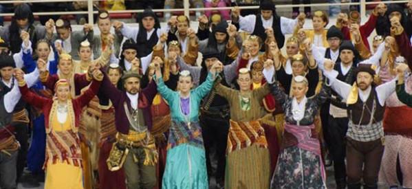 Εντυπωσίασε η Εύξεινος Λέσχη Τρικάλων στο 9ο Φεστιβάλ Ποντιακών Χορών