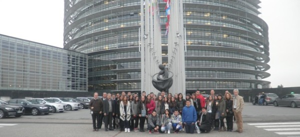 Το 7ο Λύκειο στο Ευρωπαϊκό Κοινοβούλιο