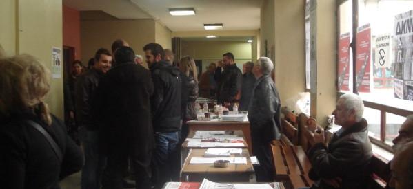Κοσμοσυρροή των μηχανικών στις εκλογές του ΤΕΕ