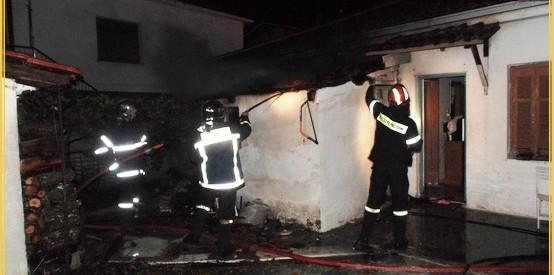 Στις φλόγες μονοκατοικία στην Καλαμπάκα