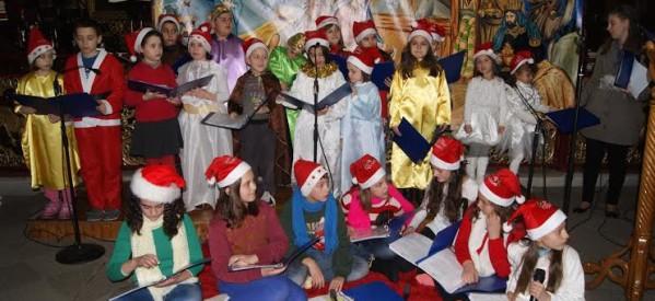 Χριστουγεννιάτικη εκδήλωση του κατηχητικού της Ενορίας Παναγίας Επίσκεψης