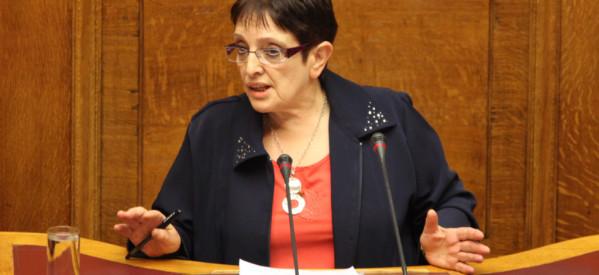 Εκδήλωση του ΚΚΕ στο Φωτεινό με την Αλέκα Παπαρήγα