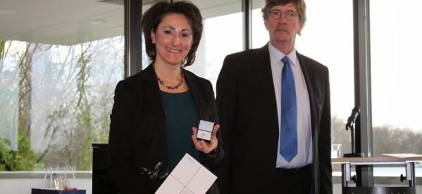 Τιμήθηκε με τον γερμανικό «Χρυσό Σταυρό» Ελληνίδα από τη Χρυσομηλιά