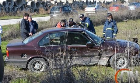 Ατύχημα από λανθασμένη εκτίμηση στην Οιχαλία