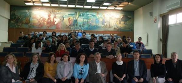 Μαθητές από χώρες της Ευρώπης στον Χρ. Λάππα
