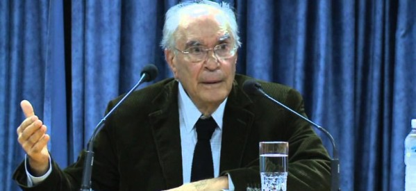 Ο Χρήστος Γιανναράς στη Λάρισα