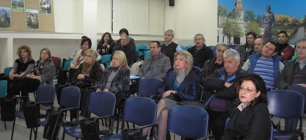 Επιμόρφωση εκπαιδευτικών στο 1ο ΕΠΑΛ Τρικάλων