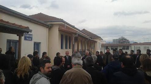 Εγκαίνια δρόμου ή αποκλεισμός από τους κατοίκους Κηπακίου;