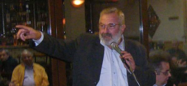 Ο Β. Μπούτας σε εκδήλωση του ΚΚΕ στη Φαρκαδόνα