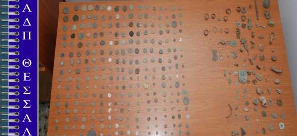 Σύλληψη αρχαιοκάπηλου στην Ελασσόνα