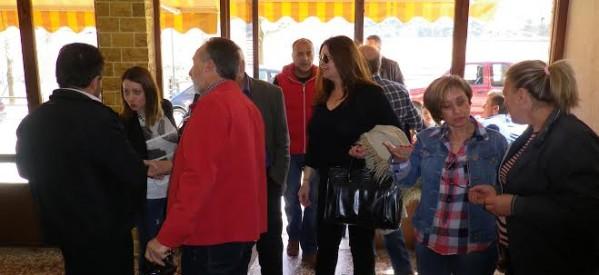 Σε Αηδόνα και Χρυσομηλιά η υποψήφια Δήμαρχος Καλαμπάκας Πέρυ Χαρτοπούλου