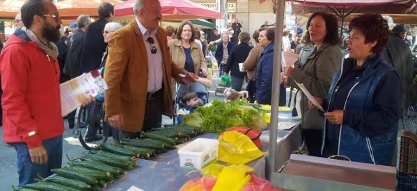 Περιοδεία της Λαϊκής Συσπείρωσης Δ. Τρικκαίων στην αγορά της πόλης