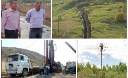 Τα αγροικά έργα της αιρετής Περιφέρειας επισκέφθηκε ο Κ. Αγοραστός