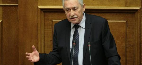 Ολόκληρη η ομιλία Κουβέλη στη Βουλή για το πολυνομοσχέδιο