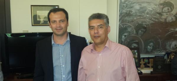 Συναντήσεις Θανάση Λιούτα με θεσμικούς εκπροσώπους της Λάρισας