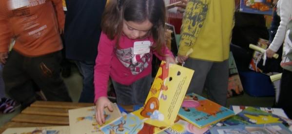 Γιορτάζει η Παγκόσμια Ημέρα Παιδικού Βιβλίου