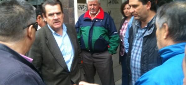 Επίσκεψη Δημ. Χατζηγάκη στη λαϊκή αγορά