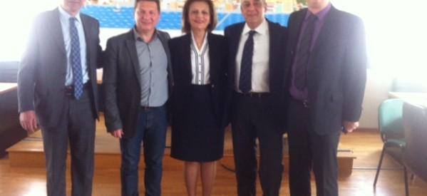 Σε όλη τη Θεσσαλία περιοδεύει η υποψήφια Περιφερειάρχης Μαρίνα Χρυσοβελώνη