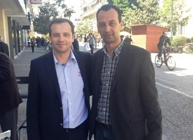 Συμπαραστάτης στους εξωτερικούς φρουρούς φυλακών ο υποψήφιος ευρωβουλευτής Θανάσης Λιούτας