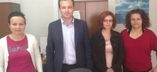 Οι Καρδιτσιώτες αγκαλιάζουν τον υποψήφιο ευρωβουλευτή Θανάση Λιούτα